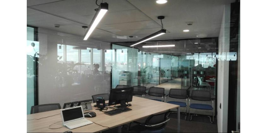 Реализованный проект освещения офиса!