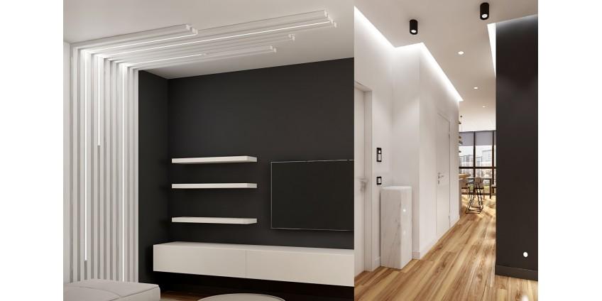 Один из реализованных проектов освещения квартиры от компании HIGHLIGHT«ВЫСОКИЙ СВЕТ»