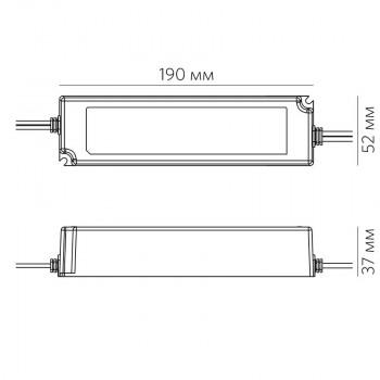 Блок питания LPV-100W-24V