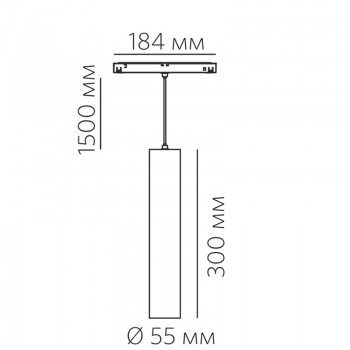 SPIKE P 15.30 B 15W 1050lm