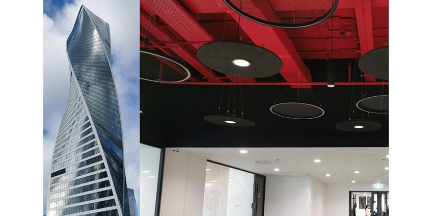 Освещение главного офиса банка компанией HIGHLIGHT«ВЫСОКИЙ СВЕТ»