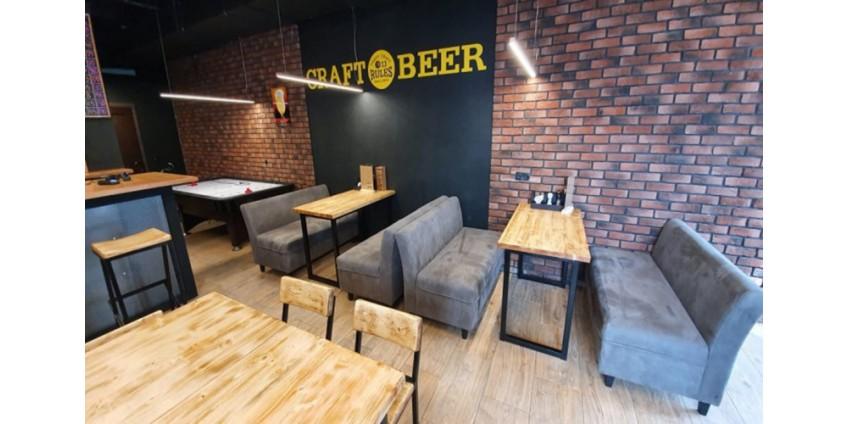 Проект освещения бара крафтового пива 13 RULES от компании HIGHLIGHT«ВЫСОКИЙ СВЕТ»